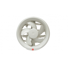 KDK Exhaust Fan Round 6 inch (15 cm) - Auto Shutter