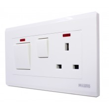 Milano - Cooker switch - White